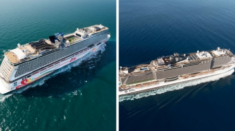 "Norwegian Joy and MSC Seaside Draw for ""Best New Cruise Ship"" of 2017"