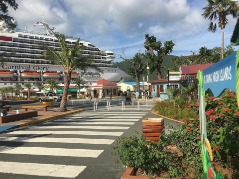 Carnival Cruise Line Makes a Return to St. Thomas
