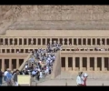 Temple of Queen Hatshepsut on the West Bank of the Nile in Luxor (Ancient City of Thebes)
