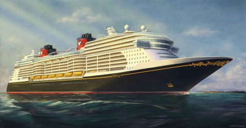 Take a First Look at Disney's Next Cruise Ship