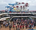 The New Carnival Horizon Departs on Maiden Cruise from Barcelona