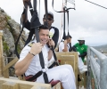 Carnival Celebrates Opening of World's Steepest Zip Line Shore Excursion