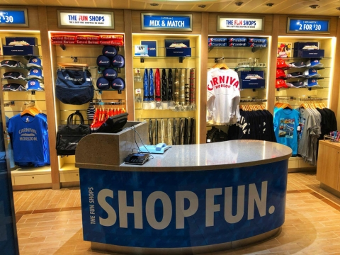 Retail on Carnival Horizon is Most Expansive in the Fleet