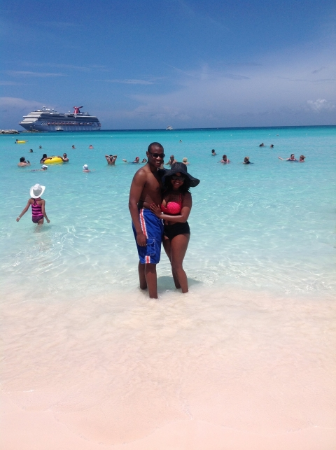 Delores&Charles Carnival Cruise 2014