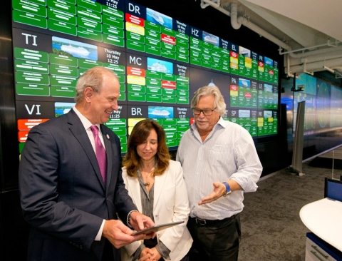 Carnival Cruise Line Unveils Largest Ship Operations Center in Miami