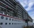 Latest Photos of Carnival Legend in Dry Dock