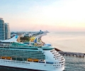 Royal Caribbean Cruise Ship Arrives in Miami After Huge Dry Dock