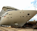 Costa Cruise Ship Being Purpose Built for China Floats Out