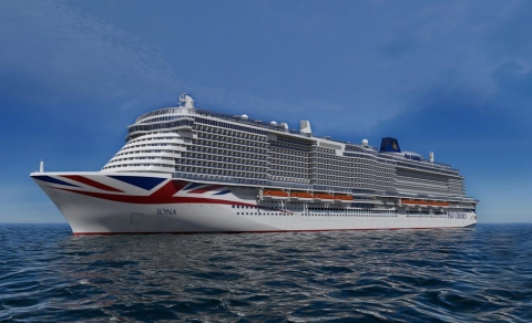 Largest Ever P&O Cruise Ship Reaches Construction Milestone