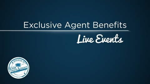 Exclusive Agent Benefits: Live Events