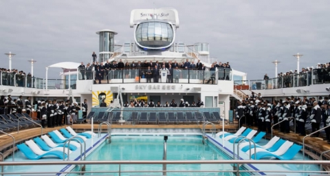 Royal Caribbean Takes Delivery of Its 26th Cruise Ship