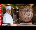Most INSANE Doner Kebab in Istanbul! (and Turkish Airlines from Istanbul to Rome)!