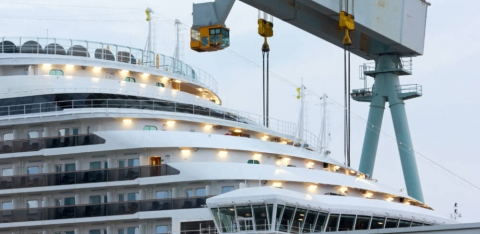 Behind the Scenes Peek of Upcoming New Carnival Cruise Ship