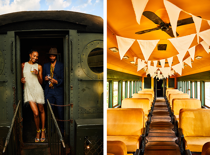The Soirée on the Railway hosted by And North. Photo by Christian Harder