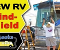 Motorhome Windshield Replacement — Installing New RV Glass