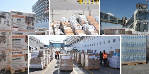 2 Carnival Cruise Ships On Way to Freeport with Hurricane Relief Supplies