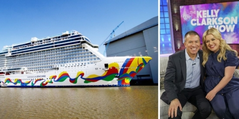 Kelly Clarkson to be Godmother for Norwegian Cruise Line's Newest Ship