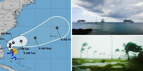 Cruise Lines Closely Monitor Tropical Storm Humberto