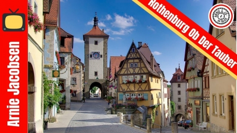 Rothenburg Ob Der Tauber Germany Vacation Travel Video Guide