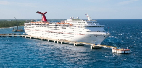 Carnival Cruise Ship Propulsion Issues Forces Port Cancellations