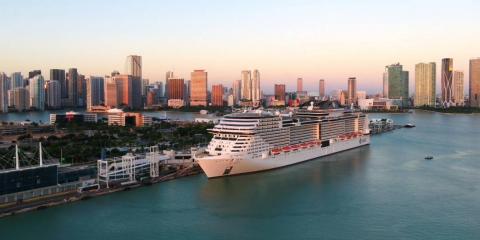 Giant Cruise Ship Launches Caribbean Cruises from Miami