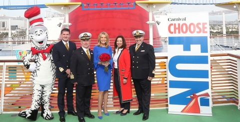 Carnival's Newest Cruise Ship Has Officially Been Named