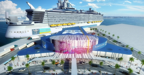 Allure of the Seas to Sail From New Royal Caribbean Galveston Terminal