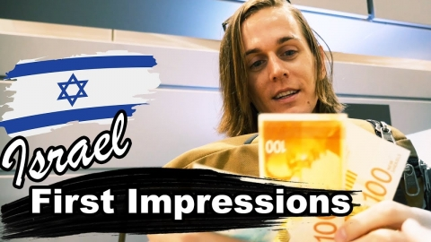 Flying to ISRAEL! (Americans First Impressions of Israel)