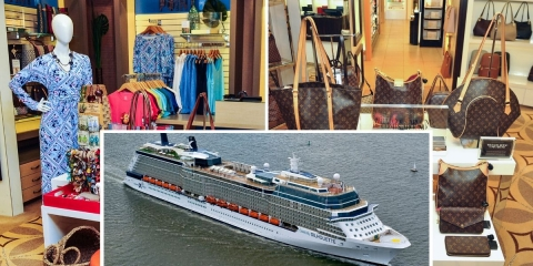 New Stores and Brands Unveiled on Upgraded Celebrity Cruise Ship