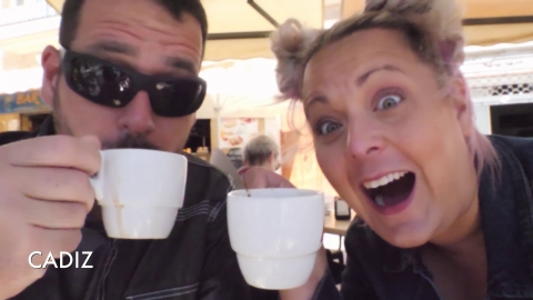 Sean and Stef 120 Days at Sea   Travel Filmmakers   Cruise Vlogs