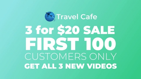 3 for 20 Deal: First 100 Customers