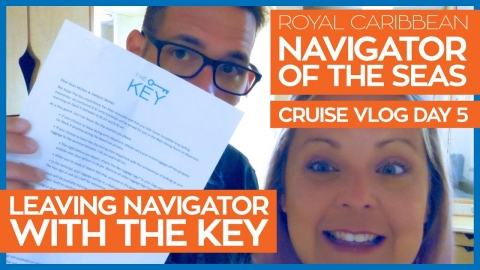 Navigator of the Seas | The Key Program & Leaving the Ship | Royal Caribbean Cruise Line Vlog Day 5