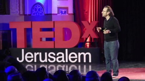 Living in a Playful Collage: Hanoch Piven at TEDxJerusalem