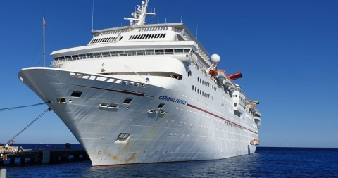 Carnival Fantasy Arrives in Turkey Ready for Scrapping