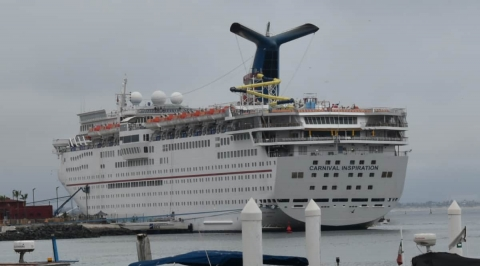 Seems the Carnival Inspiration is Heading to Be Scrapped