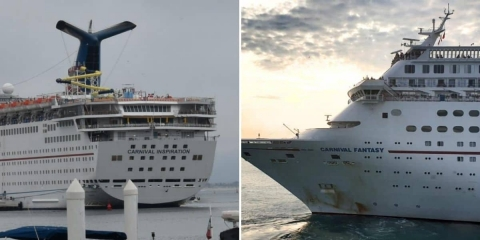 Crew Members Share Their Memories of Two Fantasy-class Cruise Ships